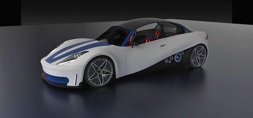 3D-printed car contest winner is road ready by design