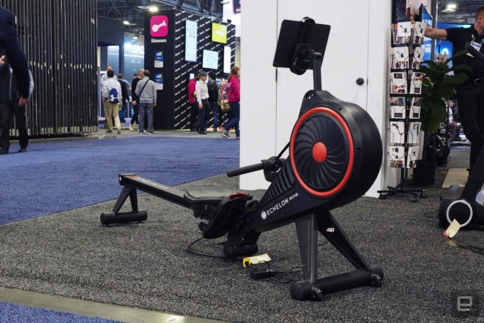 Echelon made a more-affordable smart rowing machine