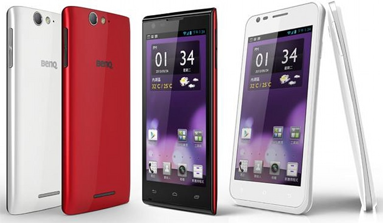 BenQ rejoins the smartphone market with two tepid Android models