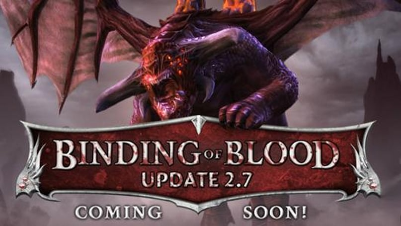 RIFT 2.7: Binding of Blood delayed [Update: It's live now!]