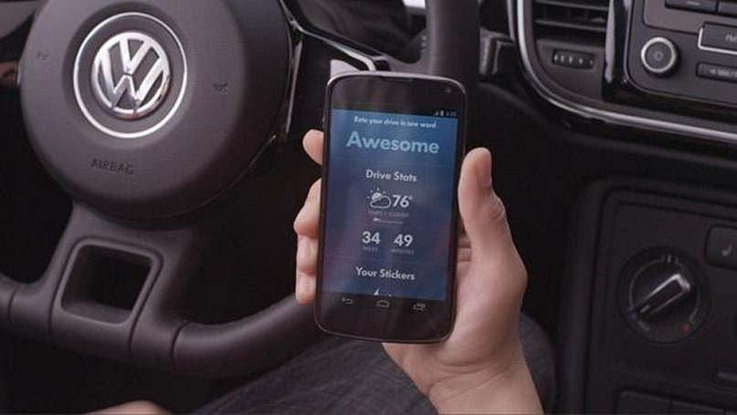 Volkswagen and Google launch SmileDrive Android app: it makes insufferable commutes sufferable (video)