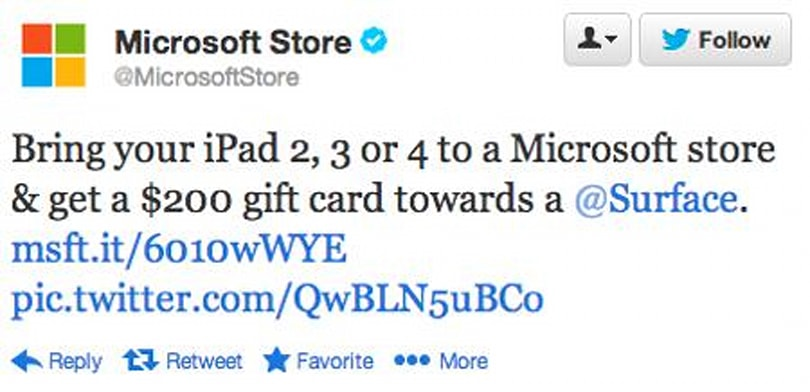 Microsoft will pay foolish people $200 to ditch their iPad, but you should know better
