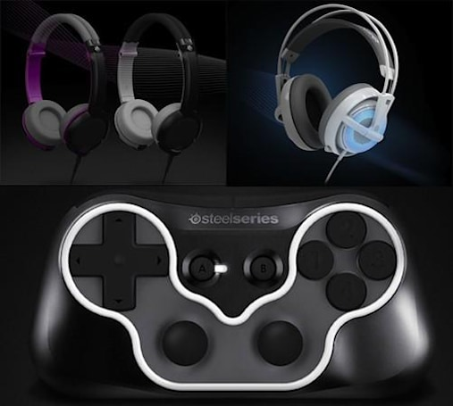 SteelSeries drops a bag of CES goodies: two headsets, three mice and one mobile controller