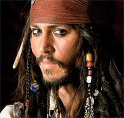 Johnny Depp, star of 3D 'Pirates' movie, can only see 2D
