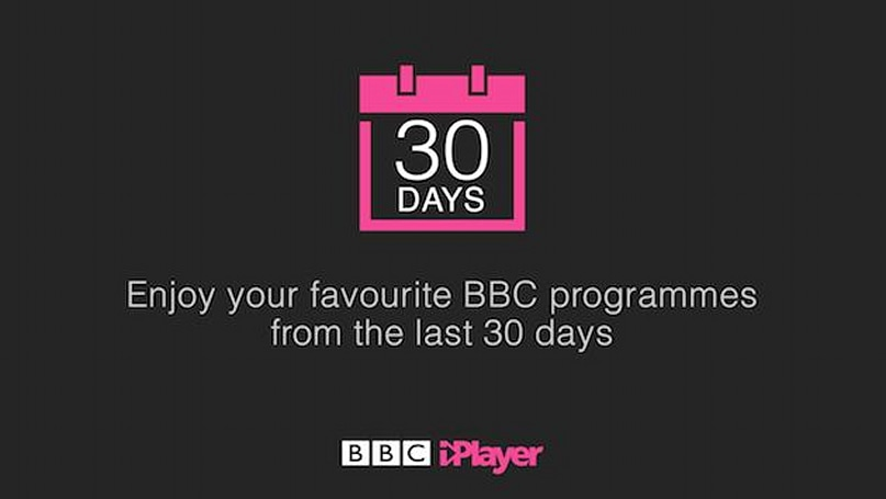 BBC iPlayer now gives you a month to catch up on programmes
