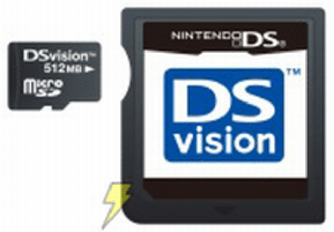 DSvision sees a future on the DS