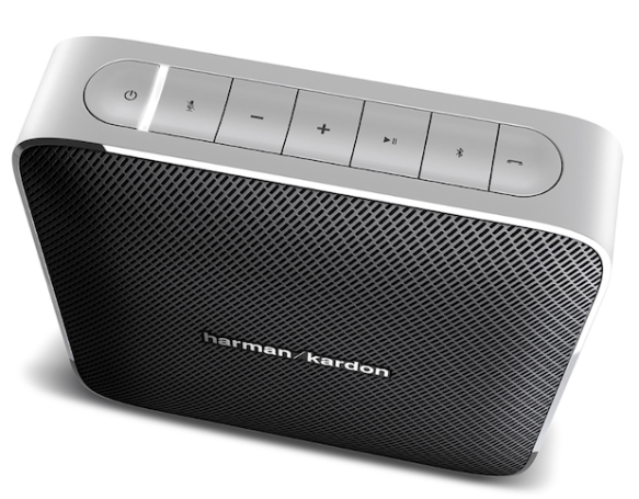 Harman Kardon's Esquire Bluetooth speaker doubles as a conference system, fits in a briefcase