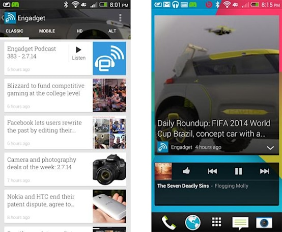 Google Play Newsstand gets a widget, adds mini view for easy reading