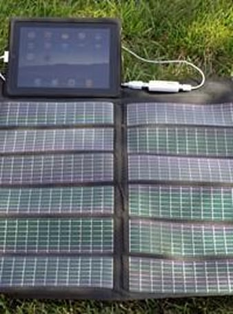 Quickertek selling solar panel for iPad