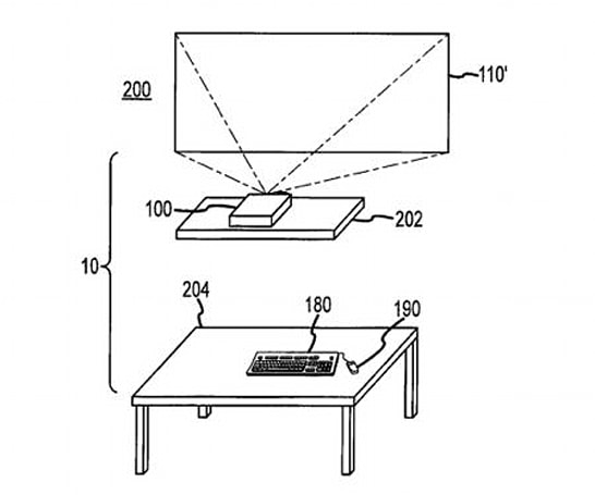 Apple patents 'desk-free computer,' but you'll still need a place for your keyboard and mouse