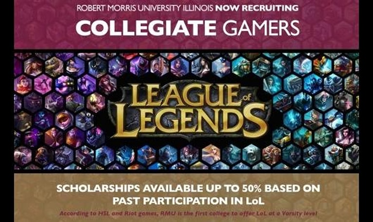 University adds League of Legends team to its athletic program