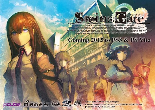 Landmark visual novel Steins;Gate heads west on PS3, Vita next year
