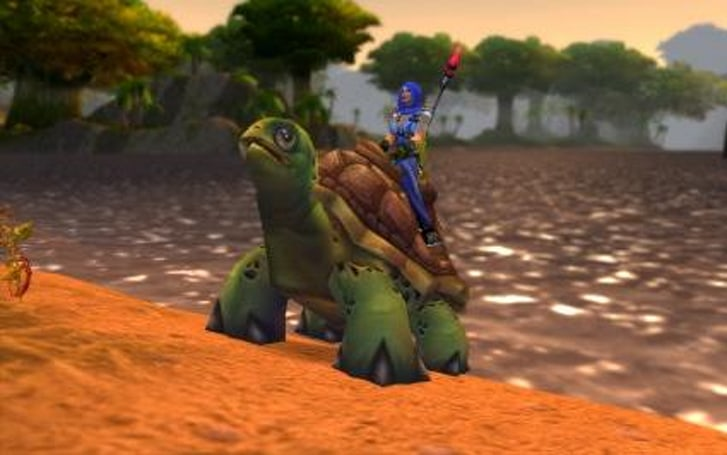 Around Azeroth: The elusive turtle mount