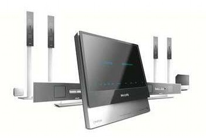 Philips' Cineos HTS9800W HTIB with wireless rears