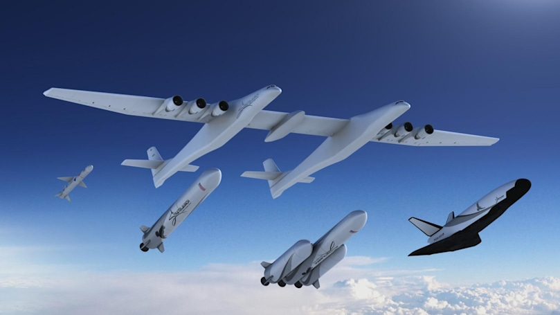 Stratolaunch's new satellite carriers include a reusable space plane
