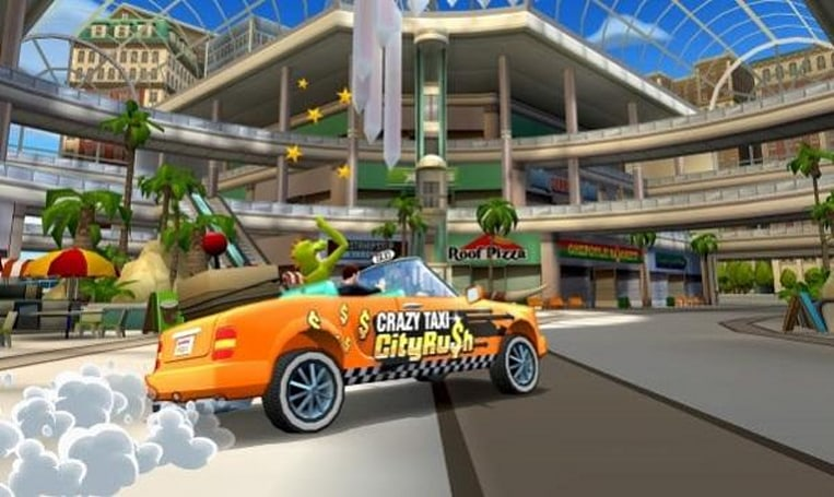 Crazy Taxi's touchscreen-oriented offspring is out on iOS