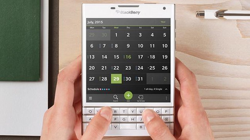BlackBerry's leaked roadmap shows when its revamped phone line arrives