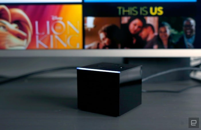 Alexa's one-way intercom feature arrives on Fire TV Cube