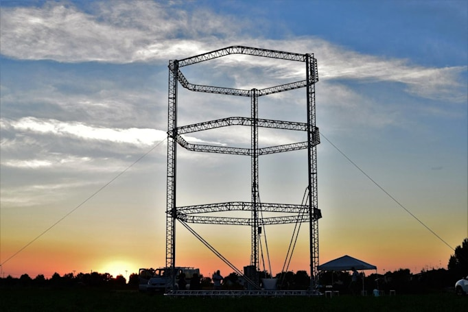 The 'world's biggest' 3D printer will build emergency houses