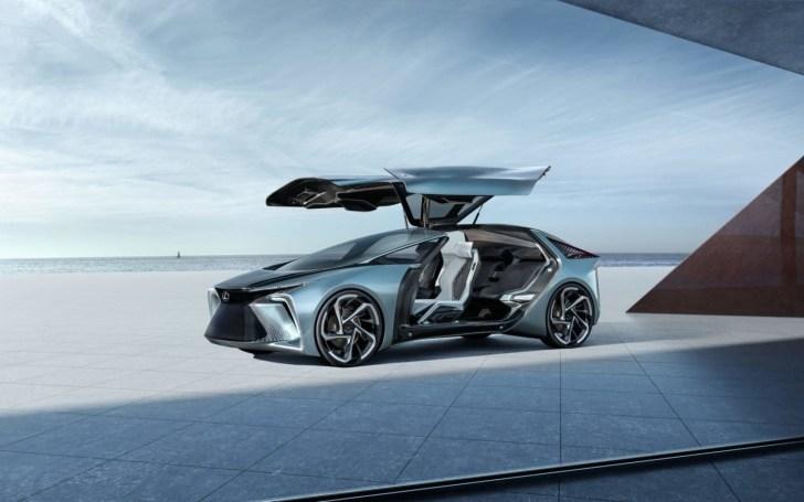 Lexus's first autonomous EV has drones and 'artificial muscle technology'
