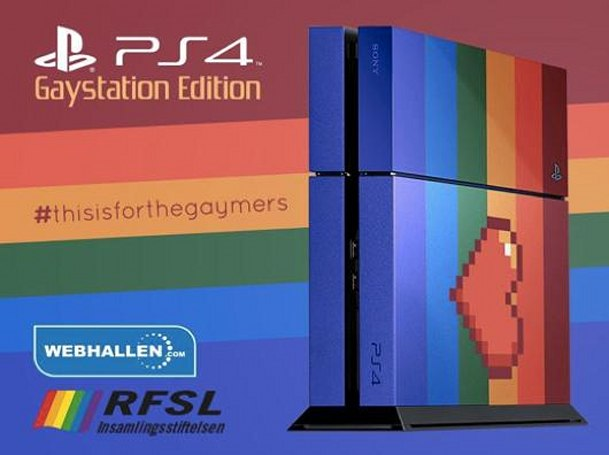 Gaystation 4 up for auction