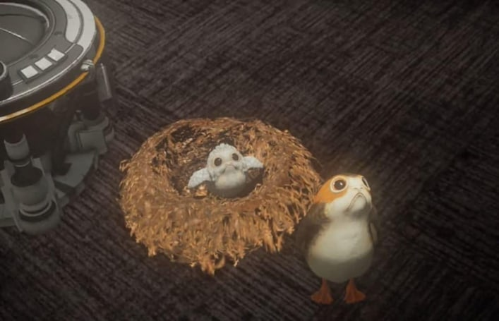 Star Wars' porgs can be your virtual pets on Magic Leap One