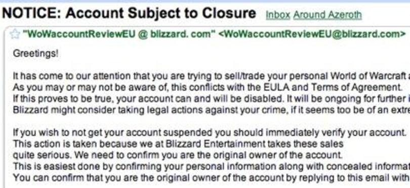 Beware of scam e-mails!