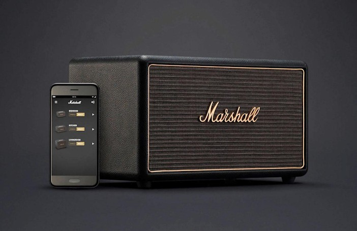 Marshall's updated speaker line packs Chromecast and multiroom audio