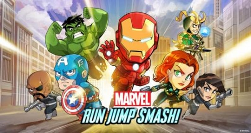 PSA: Marvel Run Jump Smash endless runner out now