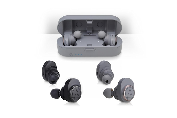 Audio-Technica is the latest to debut true wireless earbuds