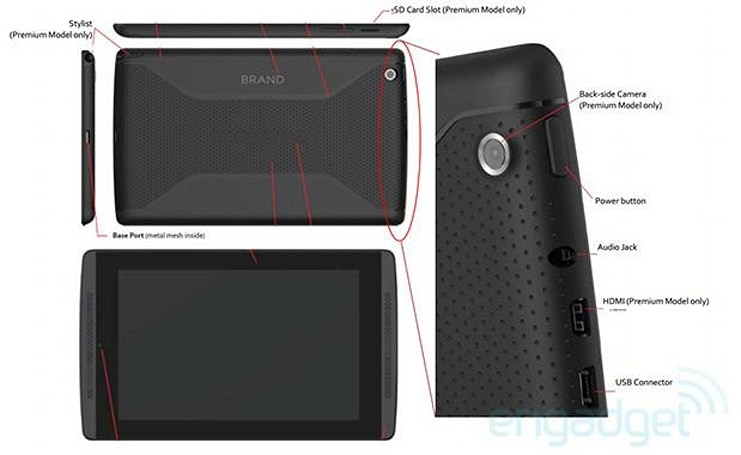 NVIDIA Tegra TAB coming with Tegra 4 chip, 7-inch display, stylus