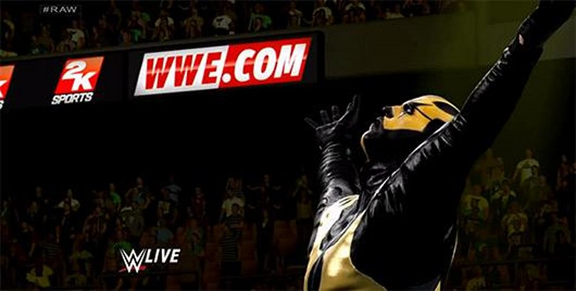 Watch Randy Orton, Goldust enter the ring in WWE 2K15