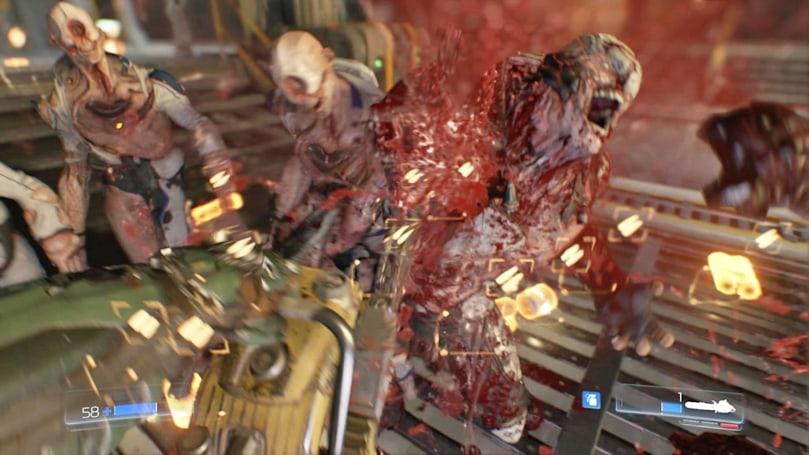Try the first level of 'Doom' for free this week
