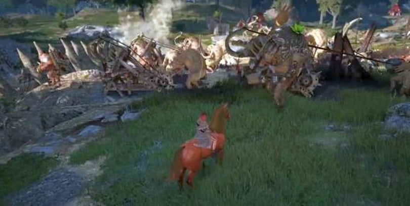 Let's throw a private little war in Black Desert