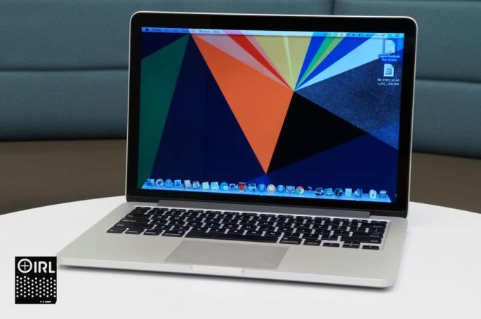IRL: The Retina display MacBook Pro and Sony's SRS-BTX300 Bluetooth speaker