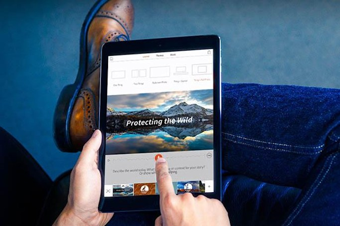 Adobe updates Voice for iPad with new features and themes