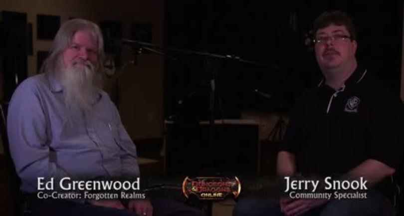 New Dungeons & Dragons Online video interviews Forgotten Realms creator Ed Greenwood