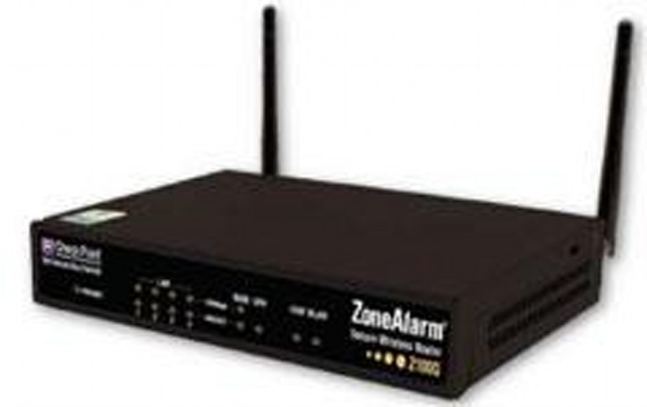 Check Point intros ZoneAlarm Z100G wireless router