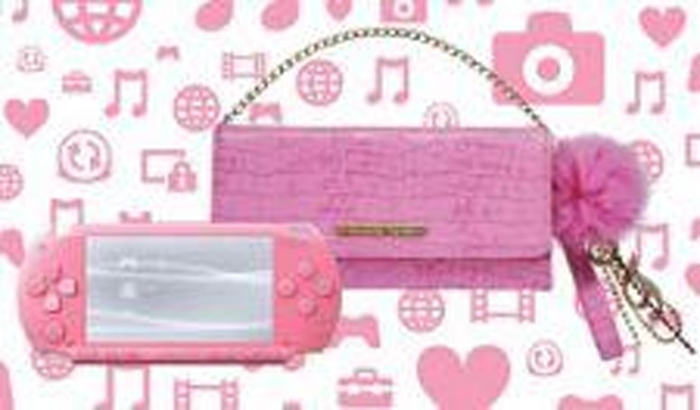 Pink PSP proves pretty popular