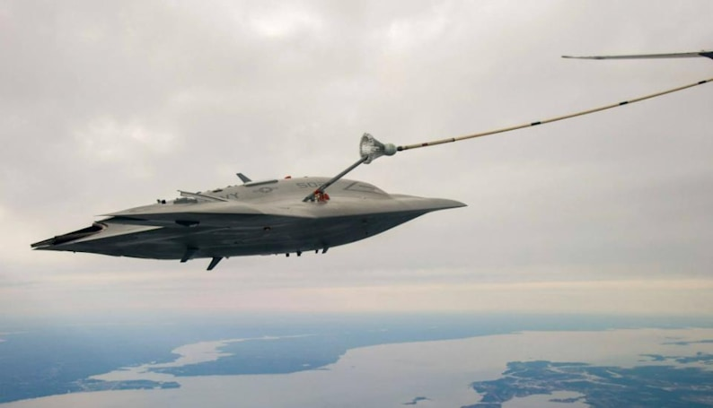 The X-47B's first aerial refueling test will also be its last