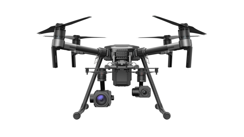 DJI's Matrice 200 UAV line is built for work