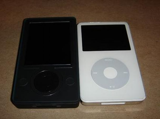 Zune and iPod