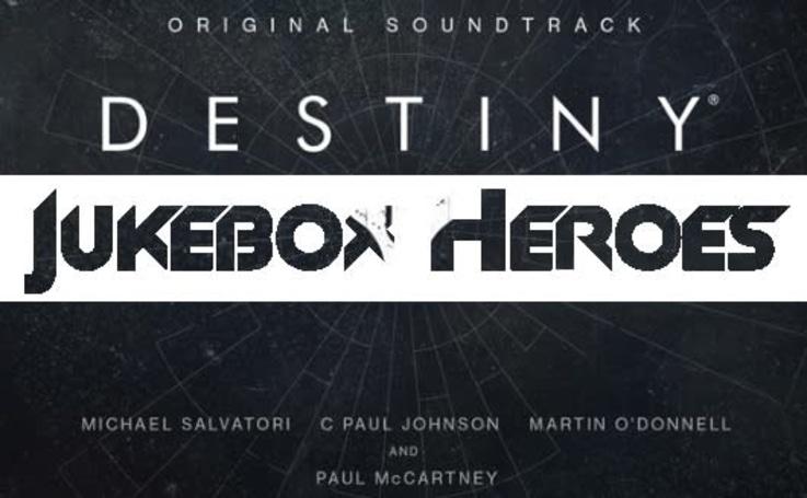 Jukebox Heroes: Destiny's soundtrack
