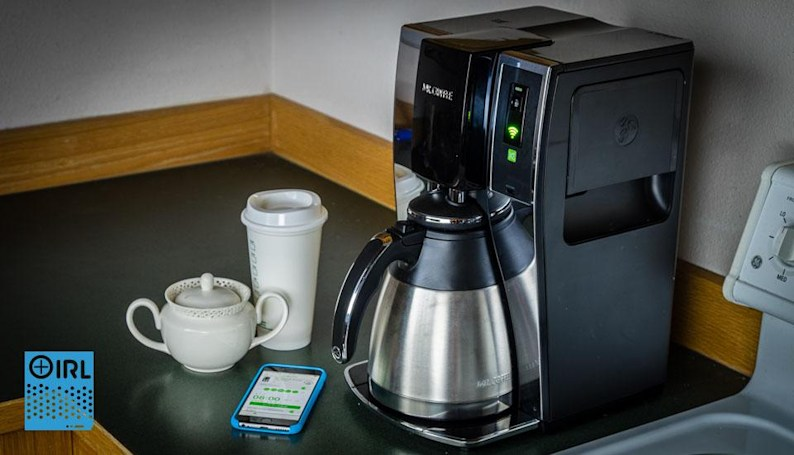 IRL: I spent a month controlling my coffeemaker over WiFi