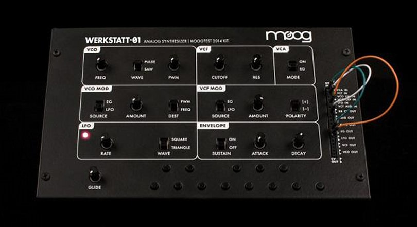 The Werkstatt-Ø1 is an affordable, educational synth kit from Moog