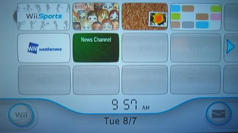 Wii update provides minor menu changes, could brick modded consoles