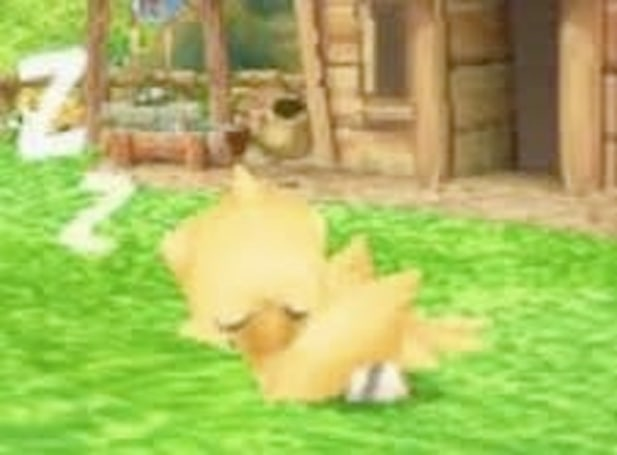 Checking out Chocobo and the Magic Picture Book