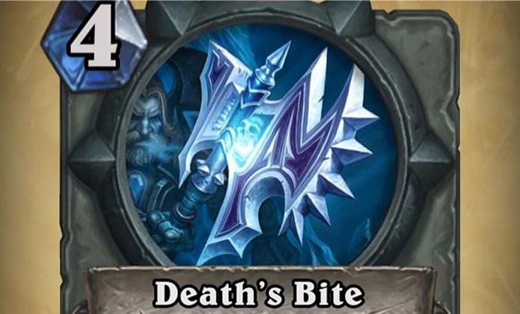 Death's Bite weapon added to Hearthstone's Curse of Naxxramas