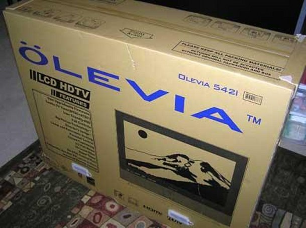 Engadget HD Review: Olevia 542i 42-inch LCD