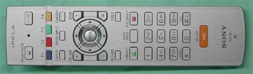Sony's PCS-RF1 RF Remote Commander slips into the FCC